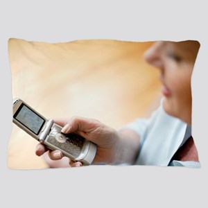 Mobile telephone Pillow Case