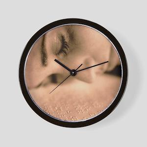Braille Wall Clock