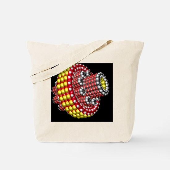 Molecular planetary gear Tote Bag