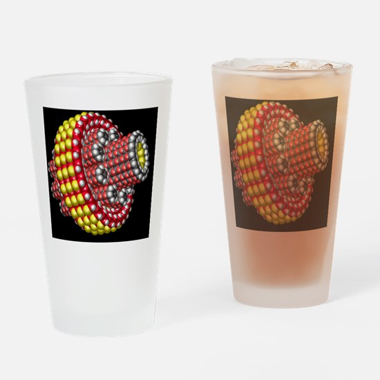 Molecular planetary gear Drinking Glass