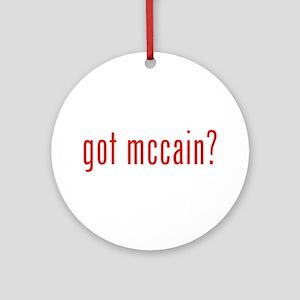 got mccain? Ornament (Round)