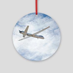 MQ-9 Reaper spyplane Round Ornament