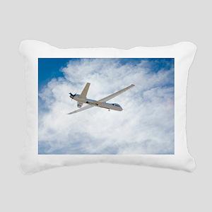 MQ-9 Reaper spyplane Rectangular Canvas Pillow