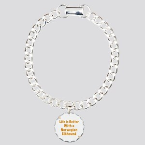 Life is better with a No Charm Bracelet, One Charm