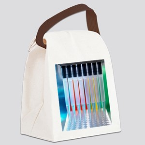 Multi-channel pipette Canvas Lunch Bag