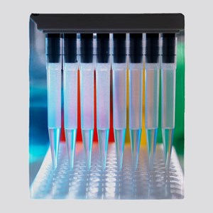 Multi-channel pipette Throw Blanket