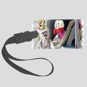 Franscious and Lennart Mice Large Luggage Tag