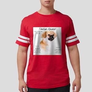 Tibetan Spaniel Mens Football Shirt