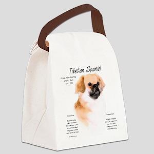 Tibetan Spaniel Canvas Lunch Bag