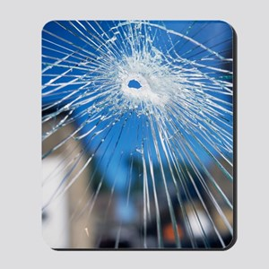 Broken glass Mousepad