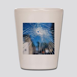 Broken glass Shot Glass