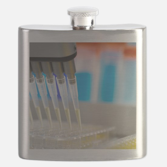 Multi-channel pipette Flask
