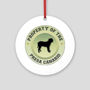 Presa Property Ornament (Round)