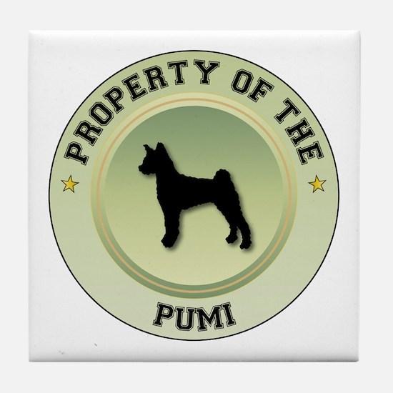Pumi Property Tile Coaster