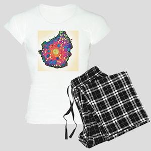 Naegleria fowleri protozoan Women's Light Pajamas