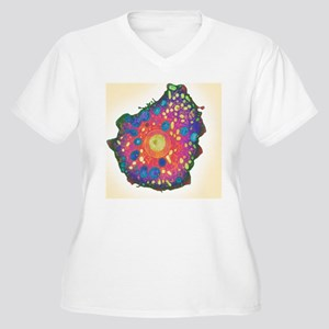 Naegleria fowleri Women's Plus Size V-Neck T-Shirt
