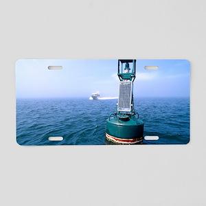 Navigation buoy Aluminum License Plate