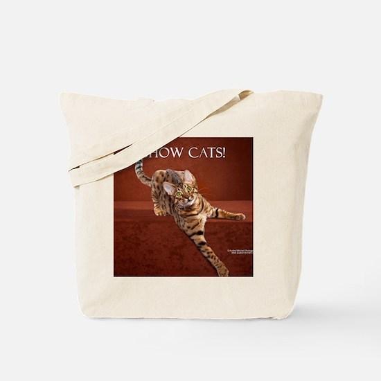 Show Cat Calendar Tote Bag
