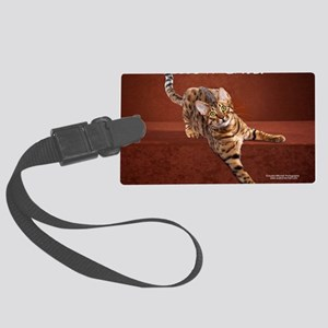 Show Cat Calendar Large Luggage Tag