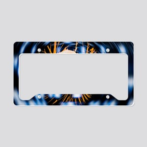 Cancer research License Plate Holder