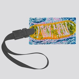 Cell mitochondrion Large Luggage Tag