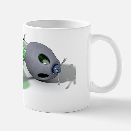 Nanorobots, artwork Mug