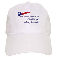 Battle of San Jacinto Baseball Cap
