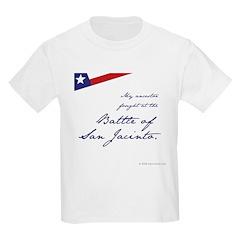 Battle of San Jacinto Kids T-Shirt