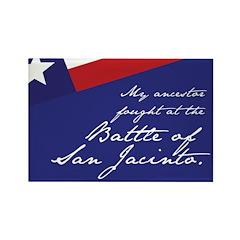 Battle of San Jacinto Rectangle Magnet (100 pack)