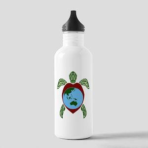 Turtle World Water Bottle