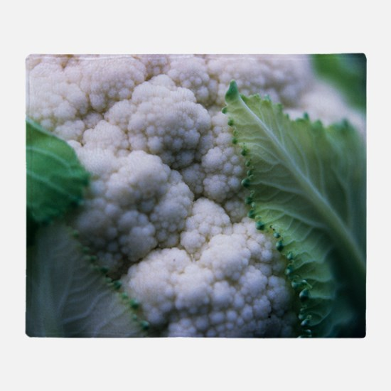 Cauliflower Throw Blanket