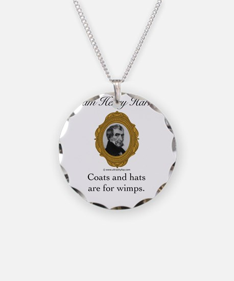 William Henry Harrison Necklace Circle Charm
