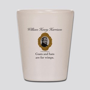 William Henry Harrison Shot Glass