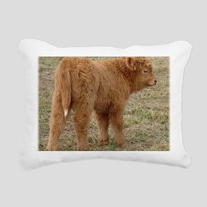 Little White Tail Rectangular Canvas Pillow