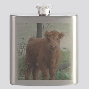 Highland Calf  Flask