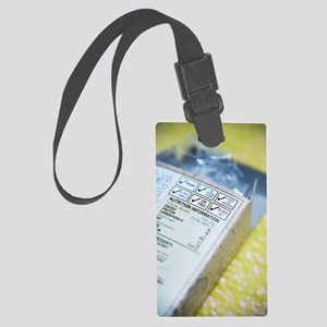 Nutritional information Large Luggage Tag