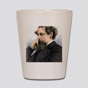 Charles Dickens, English author Shot Glass