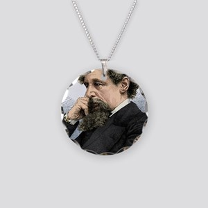 Charles Dickens, English aut Necklace Circle Charm
