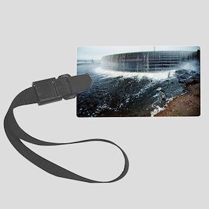 Neryungri hydroelectric dam, Rus Large Luggage Tag