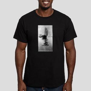 Junks in inland sea - Bertha Boynton Lum - 1908 T-