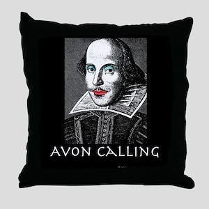 Avon Calling! Throw Pillow