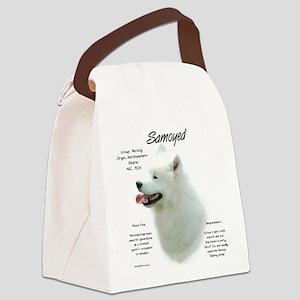 Samoyed Canvas Lunch Bag
