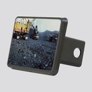 Open cast coal mining Rectangular Hitch Cover