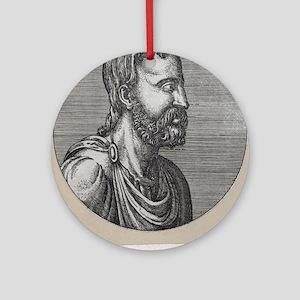 Celsus, Roman philosopher Round Ornament