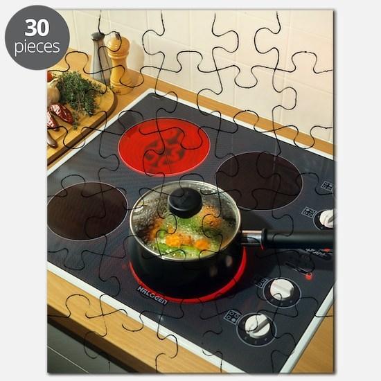 Ceramic hob Puzzle