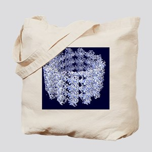 Cell microtubule structure Tote Bag