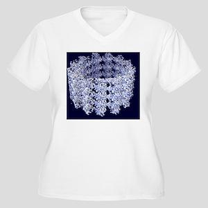 Cell microtubule  Women's Plus Size V-Neck T-Shirt
