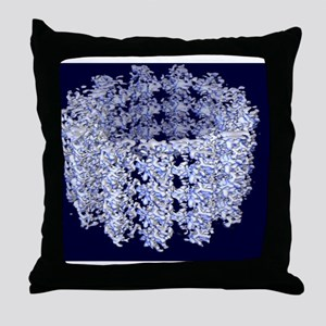 Cell microtubule structure Throw Pillow