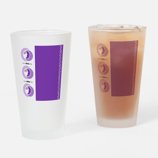 Luggage Handle Wrap Drinking Glass