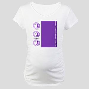 Luggage Handle Wrap Maternity T-Shirt
